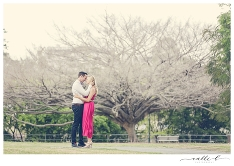 Danae and Matt's Brisbane Love Shoot