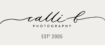 Sunshine Coast Wedding Photographer, Calli B Photography logo